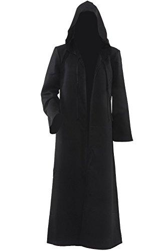 Amayar Herren Kapuzen Robe Umhang Ritter Fancy Cosplay Kostüm