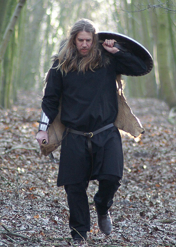 Mittelalter Wikinger Kleidung Tunika Männer Herren LARP