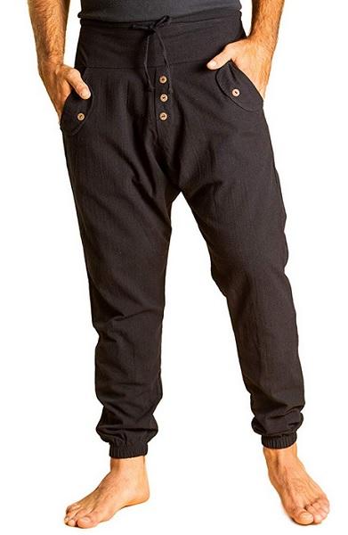 Wikinger Hose Herren braun Mittelalter Wikinger Kleidung