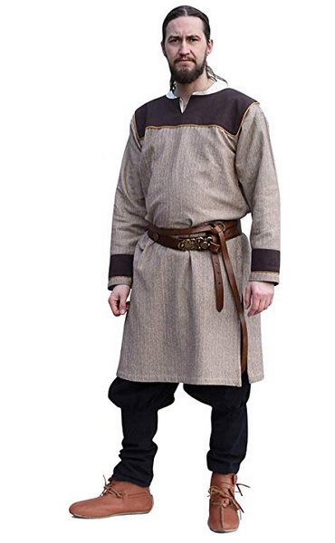Wikinger Tunika Waffenrock Männer Herren Wikinger Kleidung